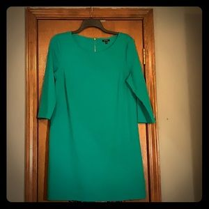 Green shift dress!